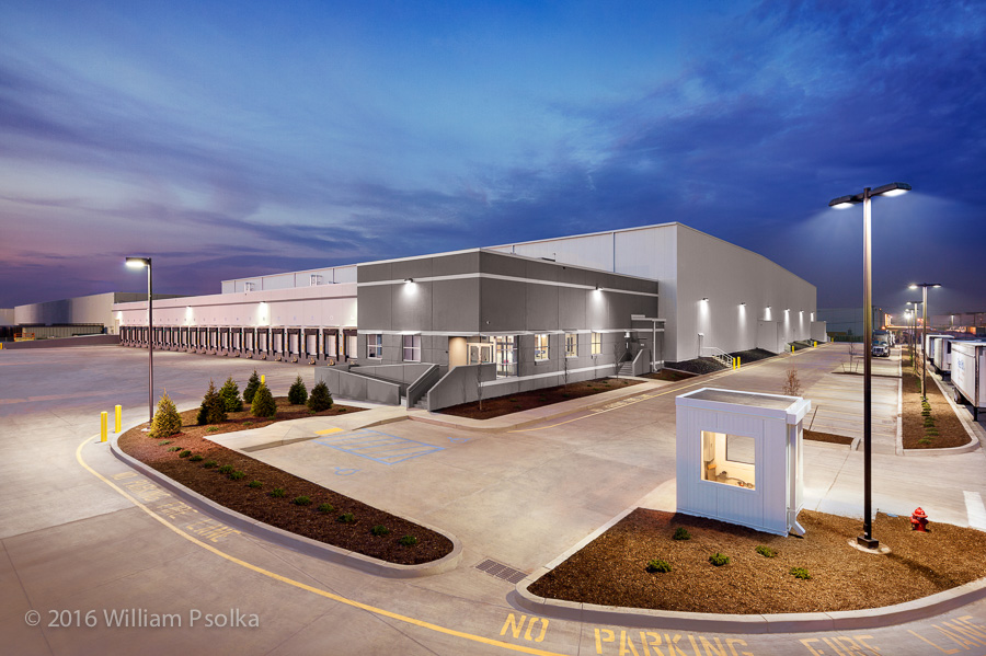 Psolka Photography exterior image of Port Cartaret NJ warehouse