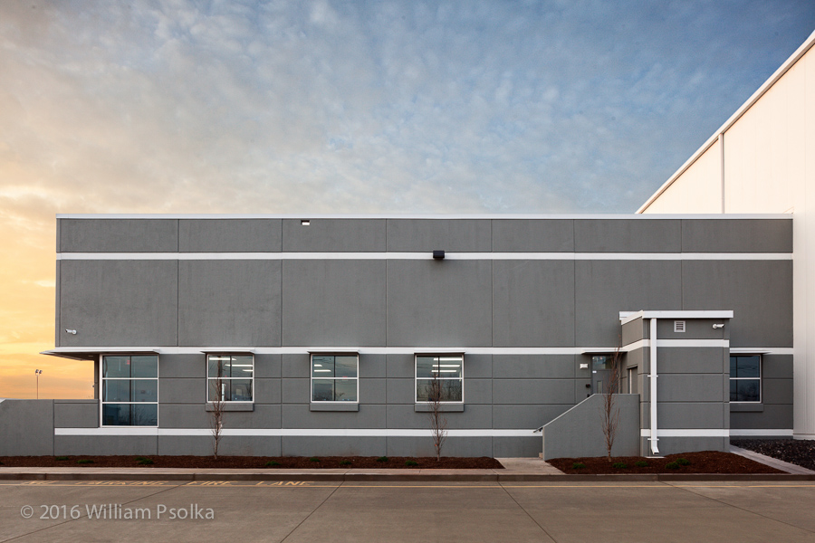 Psolka Photography exterior image of Port Cartaret warehouse offices