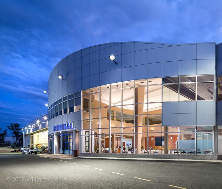 Signature Terminal exterior Psolka Photography