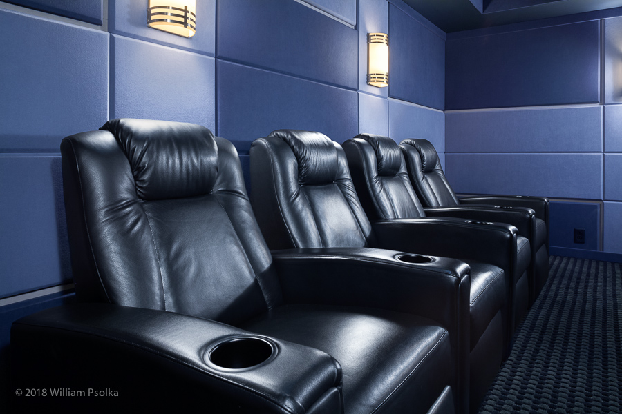 Pre-designed theater seating